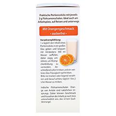 FLOHSAMENSCHALEN indisch Sticks Orange 30 Stück - Linke Seite