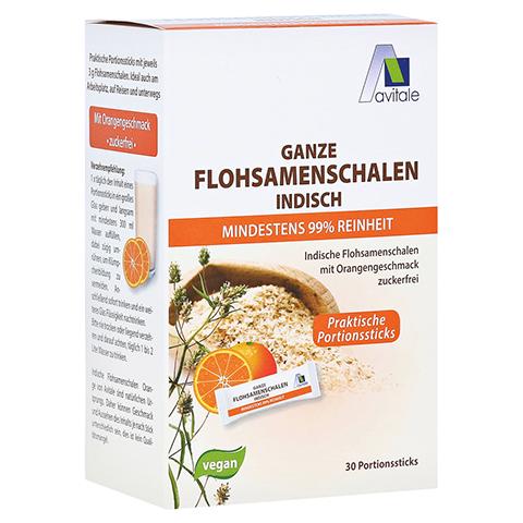 FLOHSAMENSCHALEN indisch Sticks Orange 30 Stück