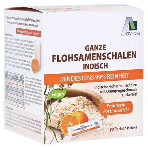 FLOHSAMENSCHALEN indisch Sticks Orange 90 Stück