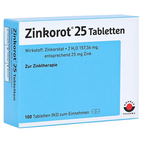 Zinkorot 25 100 Stück N3