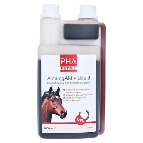 PHA AtmungAktiv Liquid f.Pferde 1000 Milliliter