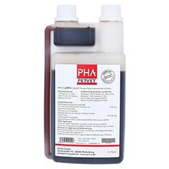 PHA AtmungAktiv Liquid f.Pferde 1000 Milliliter - Rückseite