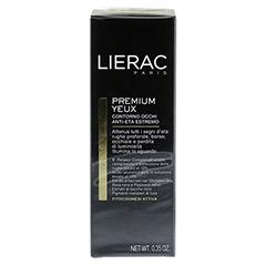 LIERAC Premium Augenpflege Creme 10 Milliliter - Rückseite