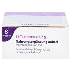 FEMIBION BabyPlanung 0 Tabletten 56 Stück - Oberseite
