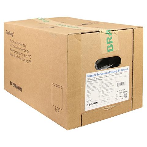 RINGER L�SUNG B.Braun Ecobag Infusionsl�sung 10x1000 Milliliter N2