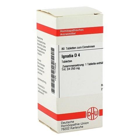 IGNATIA D 4 Tabletten 80 St�ck N1