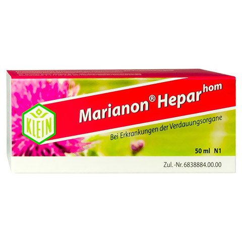 MARIANON Heparhom Tropfen 50 Milliliter N1
