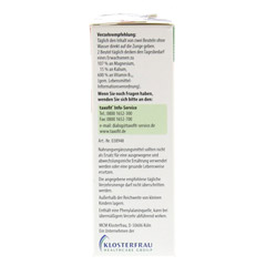 TAXOFIT Magnesium+Kalium+B12 Direkt-Granulat 20 Stück - Rechte Seite