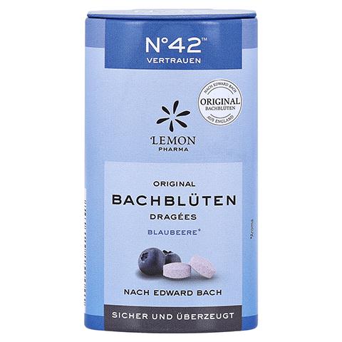 BACHBL�TEN No.42 Vertrauen Dragees nach Dr.Bach 21 Gramm