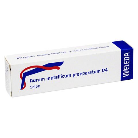 AURUM METALLICUM PRAEPARATUM D 4 Salbe 25 Gramm N1