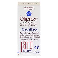 OLIPROX Nagellack bei Pilzbefall 12 Milliliter - Vorderseite