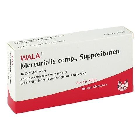 MERCURIALIS comp. Suppositorien 10x2 Gramm N1