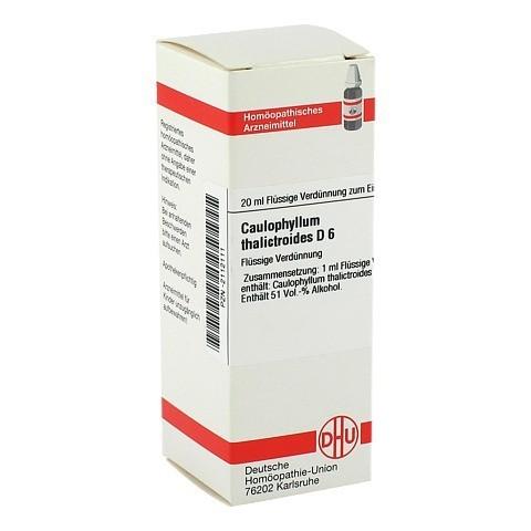 CAULOPHYLLUM THALICTROIDES D 6 Dilution 20 Milliliter N1