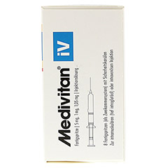 MEDIVITAN iV Injektionslösung in Zweikammerspritze 8 Stück N2 - Rechte Seite