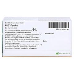 H&S Fencheltee ungemischt Filterbeutel 20 St�ck - Unterseite