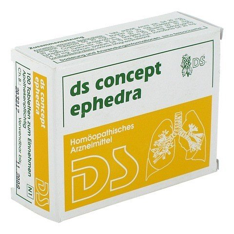 DS Concept Ephedra Tabletten 100 St�ck N1