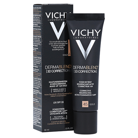 VICHY DERMABLEND 3D Make-up 45 30 Milliliter