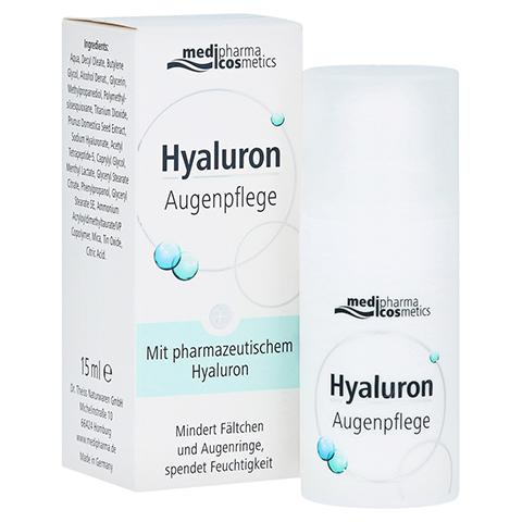 HYALURON Augenpflege Creme 15 Milliliter