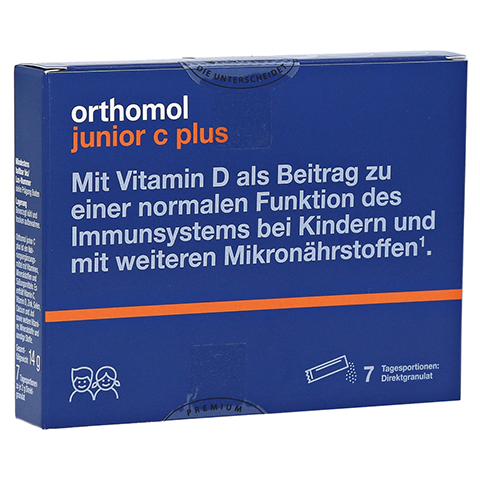 ORTHOMOL Junior C plus Granulat 7 St�ck