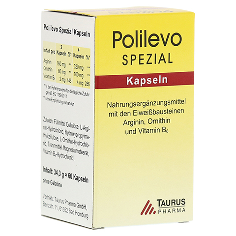 POLILEVO spezial Kapseln 60 St�ck