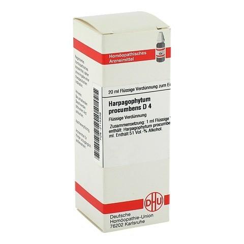 HARPAGOPHYTUM PROCUMBENS D 4 Dilution 20 Milliliter N1