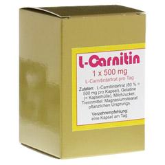 L-CARNITIN 1x500 mg Kapseln 45 Stück