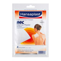 ABC W�rme-Pflaster mit Sensitive-Vlies 9,85mg Hansaplast med 4 St�ck