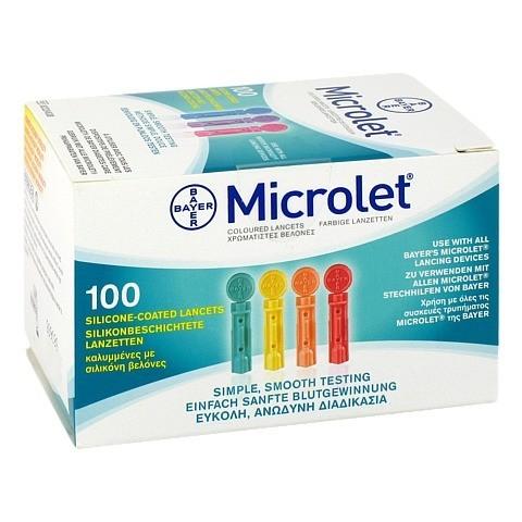 MICROLET Lanzetten CPC 100 Stück