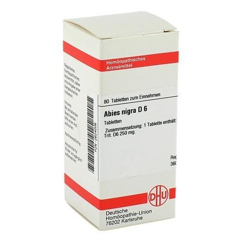 ABIES NIGRA D 6 Tabletten 80 Stück N1