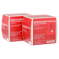 Bomacorin 450mg Weißdorntabletten N 200 Stück