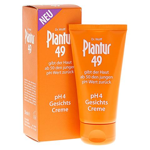 PLANTUR 49 pH4 Gesichts-Creme 50 Milliliter