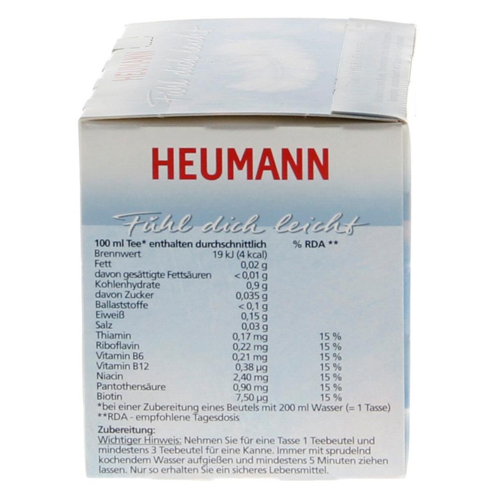 erfahrungen zu heumann tee f hl dich leicht filterbeutel 20 st ck medpex versandapotheke. Black Bedroom Furniture Sets. Home Design Ideas