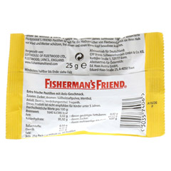 FISHERMANS FRIEND Anis Pastillen 25 Gramm - Rückseite