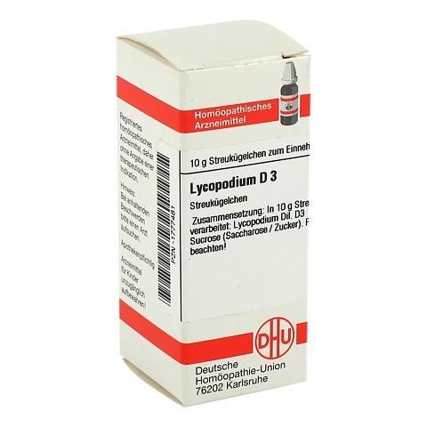 LYCOPODIUM D 3 Globuli 10 Gramm N1