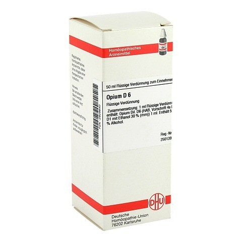 OPIUM D 6 Dilution 50 Milliliter N1