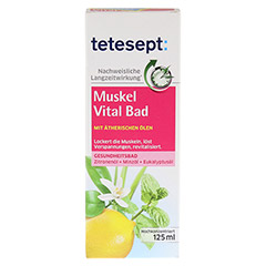 TETESEPT Muskel Vital Bad 125 Milliliter - Vorderseite