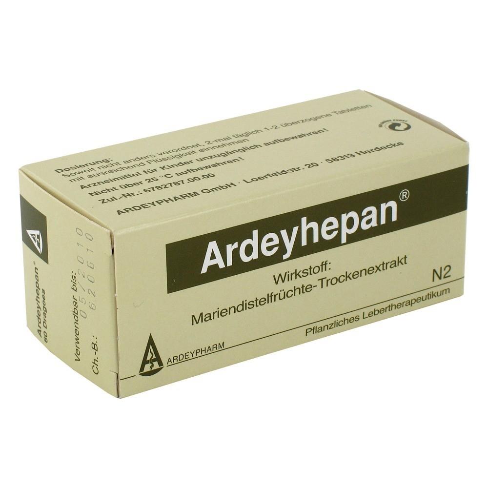 Ardeyhepan Überzogene Tabletten 60 Stück