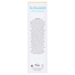 Dr. Schrammek Optimum Protection Cream SPF 20 75 Milliliter - Rückseite