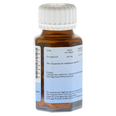 NATURAFIT Q10 120 mg Kapseln 90 Stück - Rückseite