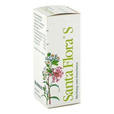SANTA FLORA S Lösung 50 Milliliter N1