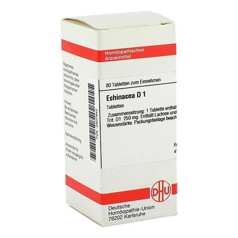 ECHINACEA HAB D 1 Tabletten 80 Stück N1