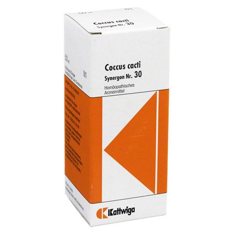 SYNERGON KOMPLEX 30 Coccus cacti Tropfen 50 Milliliter N1