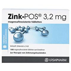 Zink-POS 3,2mg 100 Stück N3 - Vorderseite