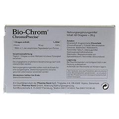 BIO CHROM ChromoPrecise 50 �g Pharma Nord Dragees 60 St�ck - R�ckseite