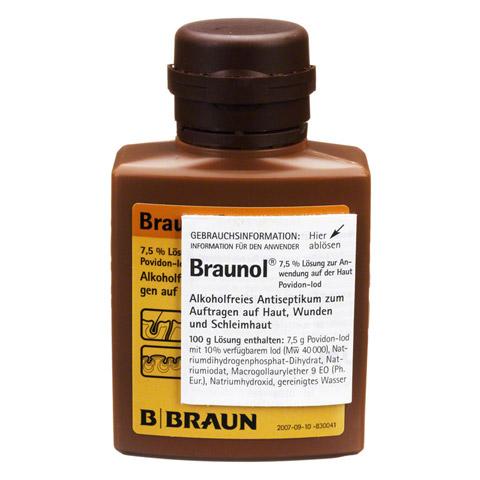 BRAUNOL Schleimhautantiseptikum 100 Milliliter N1