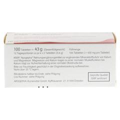 KMA Apogepha Tabletten 100 Stück - Oberseite