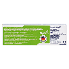 KUKIDENT Haftcreme Med + Kamille 40 Gramm - R�ckseite