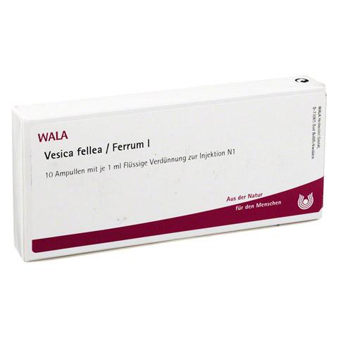VESICA FELLEA FERRUM I Ampullen 10x1 Milliliter N1
