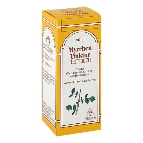 Myrrhentinktur Hetterich 30 Milliliter