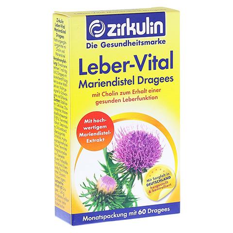 ZIRKULIN Leber-Vital Mariendistel Dragees 60 St�ck